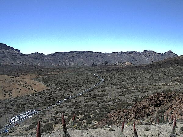 How to check if the Teide Cable Car is open - Ucanca webcam