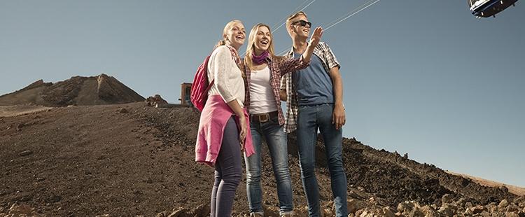 Kaufen Sie Tickets der Teide-Seilbahn