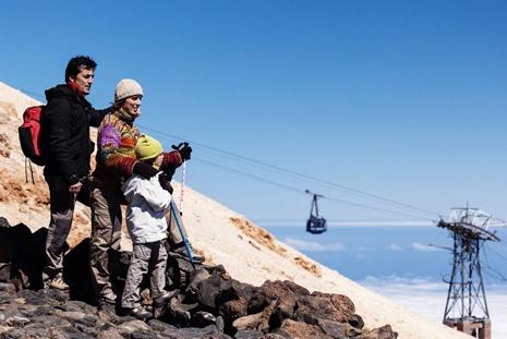 Les meilleures heures pour monter au Teide en Téléphérique
