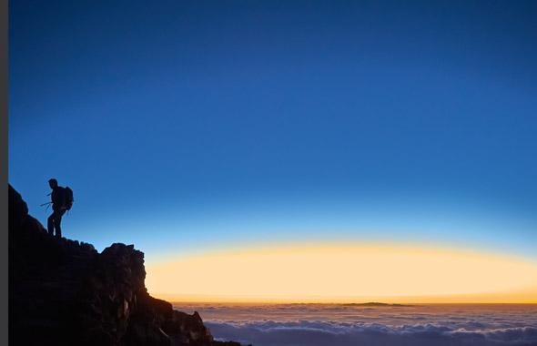 Salita a piedi fino alla vetta del Teide
