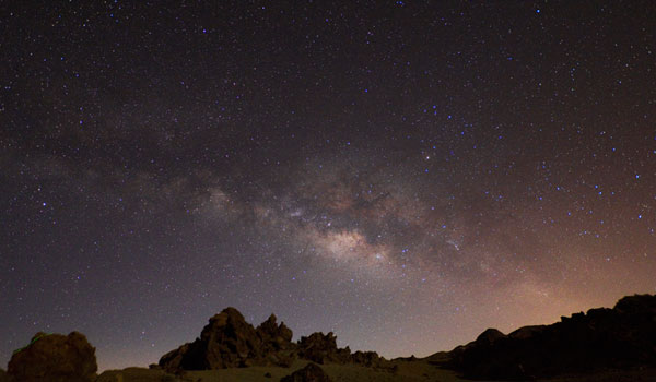 See the Milky Way in Tenerife