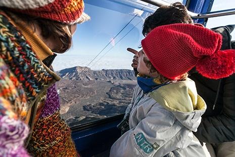 Tickets der Teide Seilbahn auf Teneriffa
