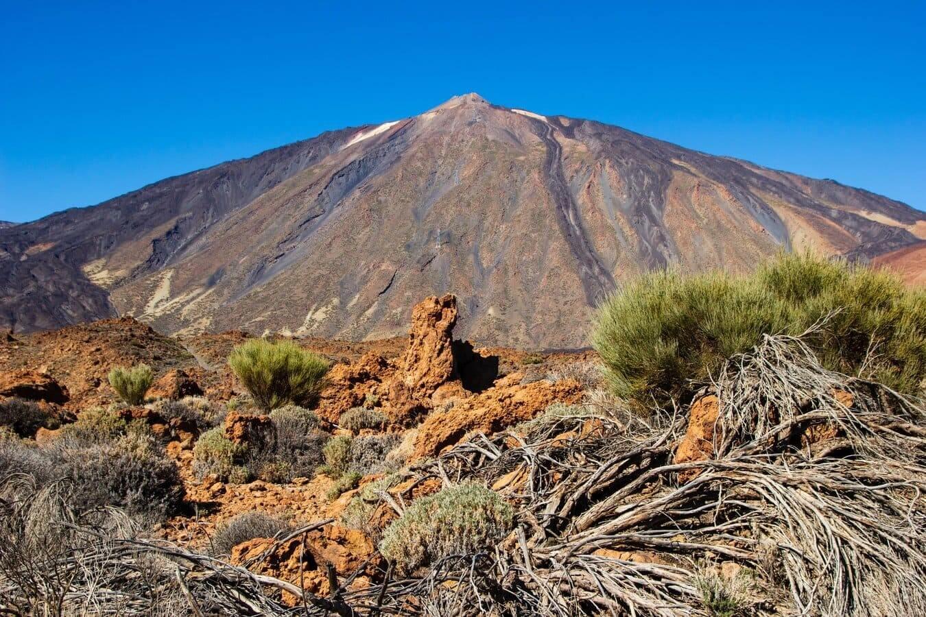 Volcán Teide en Tenerife