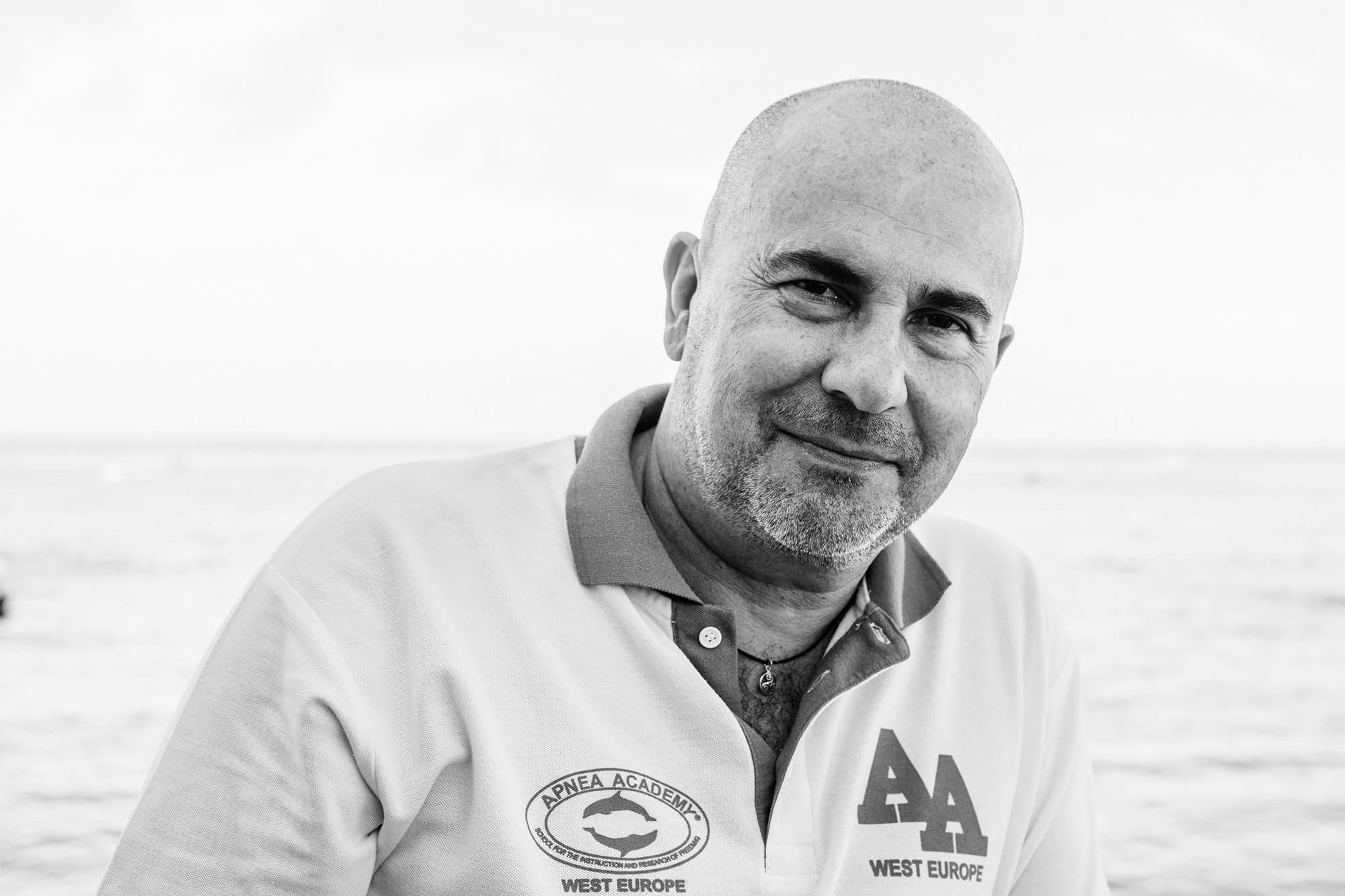 Paco González, gerente de Apnea Academy en Adeje