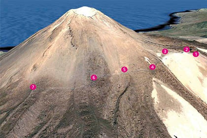 This is what the trail to Mount Teide's Pico Viejo looks like