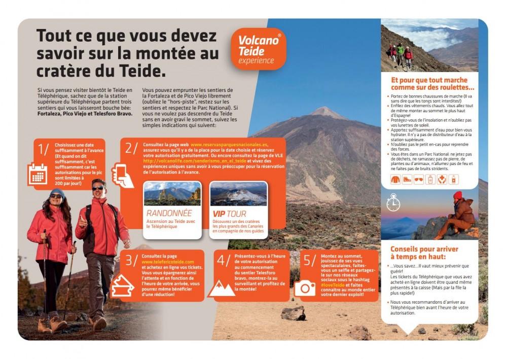 «Mode d'emploi» ou comment monter au cratère du Teide pas à pas