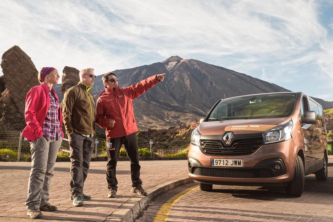 Hoe kan ik met de auto naar de top van de Teide rijden?