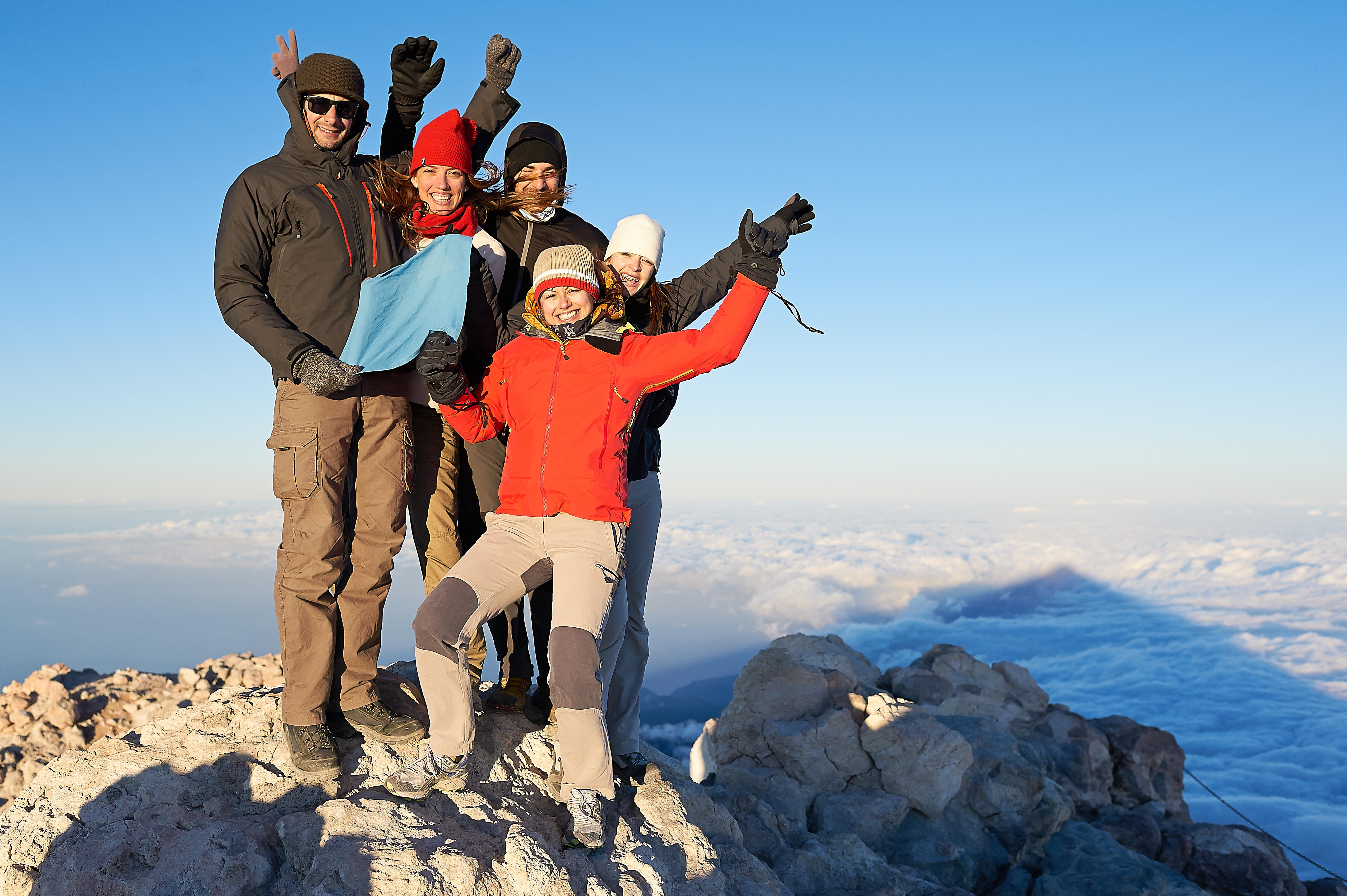 Es gibt wenig Herausforderungen wie diese: Gipfelbesteigung des Teide