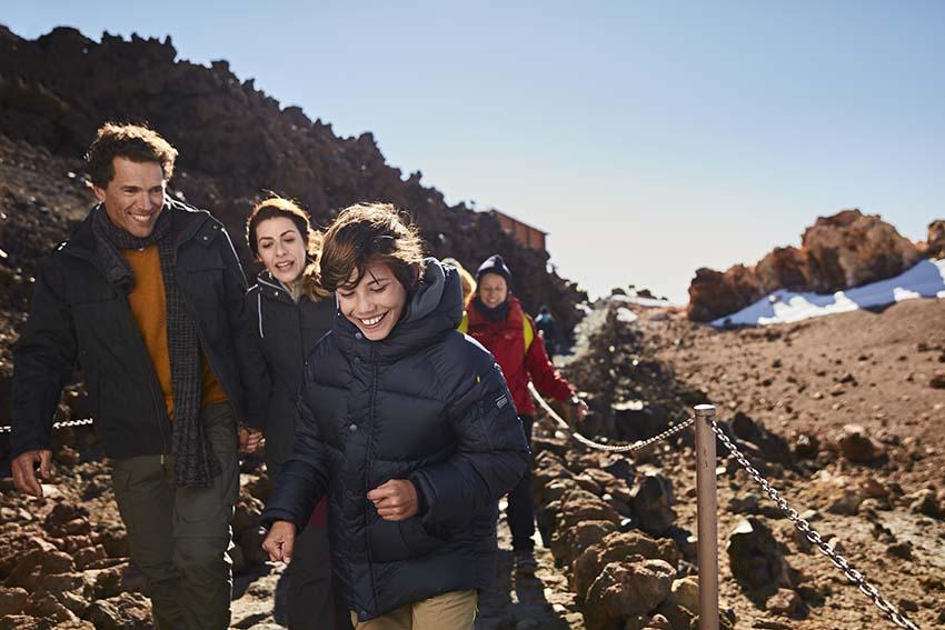 Visita el Teide con niños y disfrutad en familia