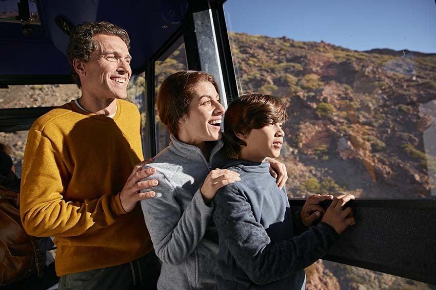 Wycieczka na Teide z dziećmi, aby nacieszyć się wulkanem z rodziną
