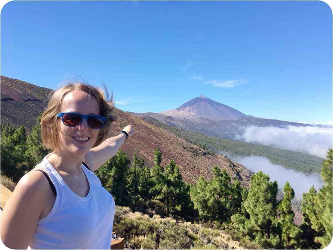 Wulkan Teide i komunikacja miejska: autobus na Teide