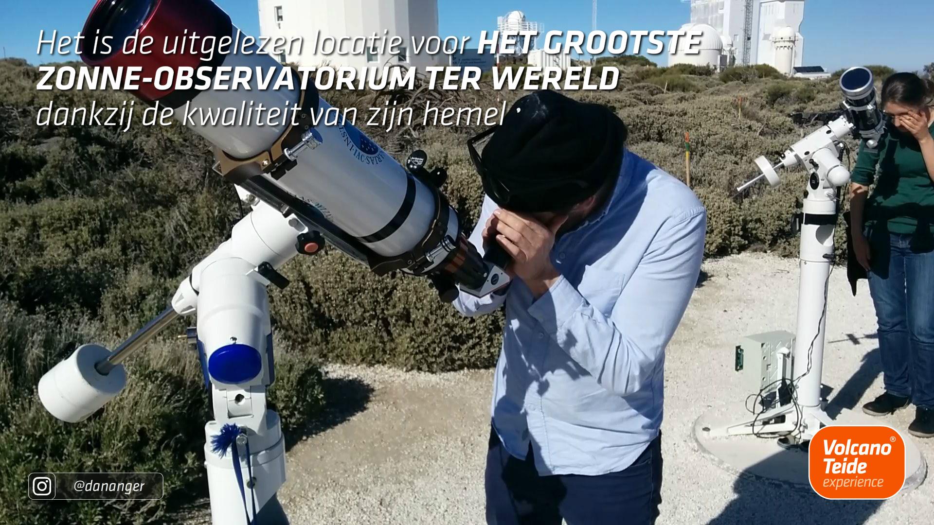 Hoe kan ik het Observatorium de Teide bezoeken?