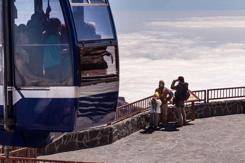 Pico del Teide beklimmen met behulp van de Kabelbaan