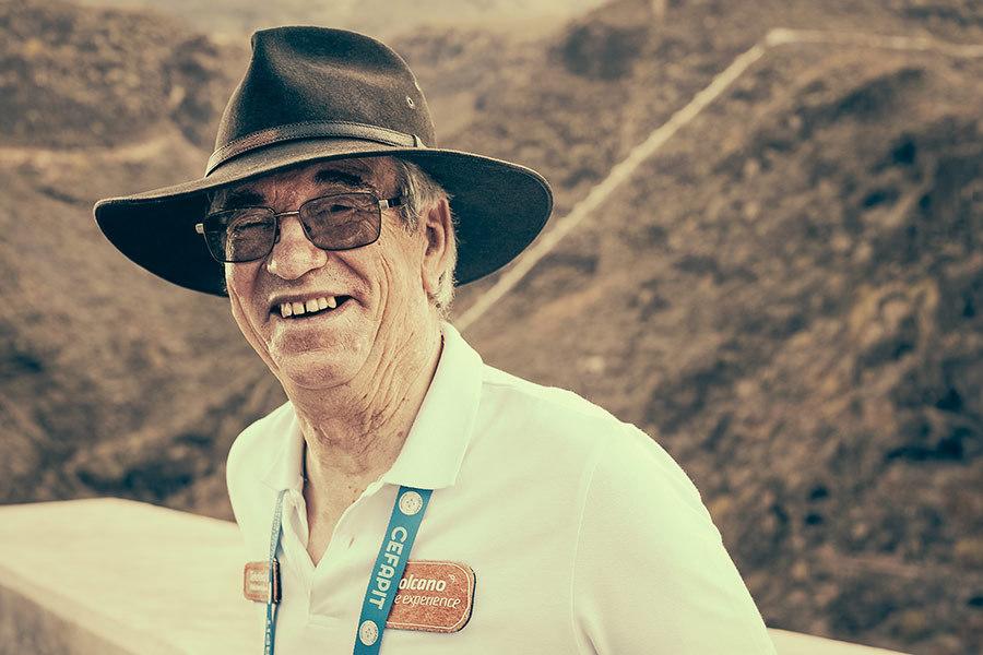 Rolf Fuchs, presidente de la asociación Tenerife APITEN