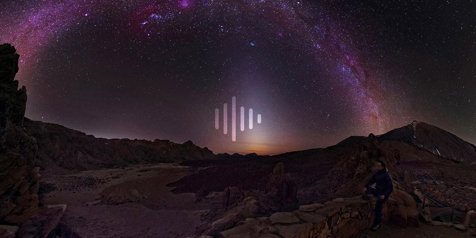 Los sonidos relajantes del Teide